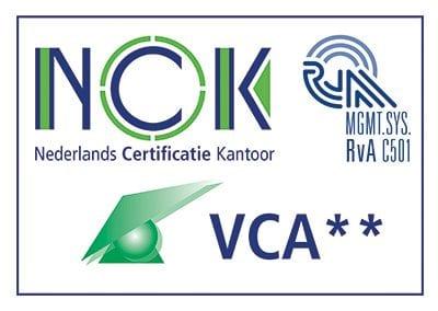 VCA2 4KL Nederlands Certificatie Kantoor (NCK)